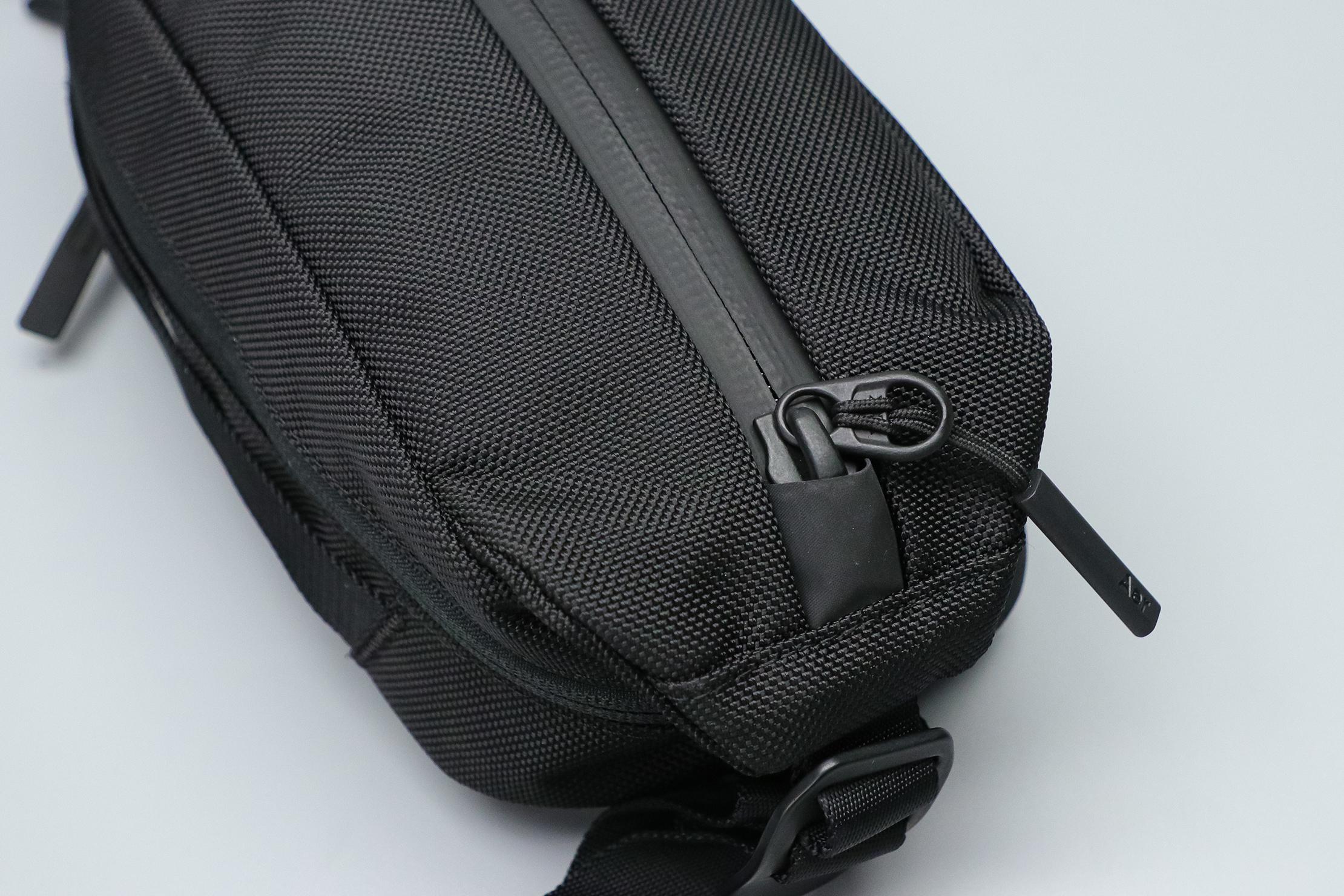 Aer City Sling 2 Zipper Material