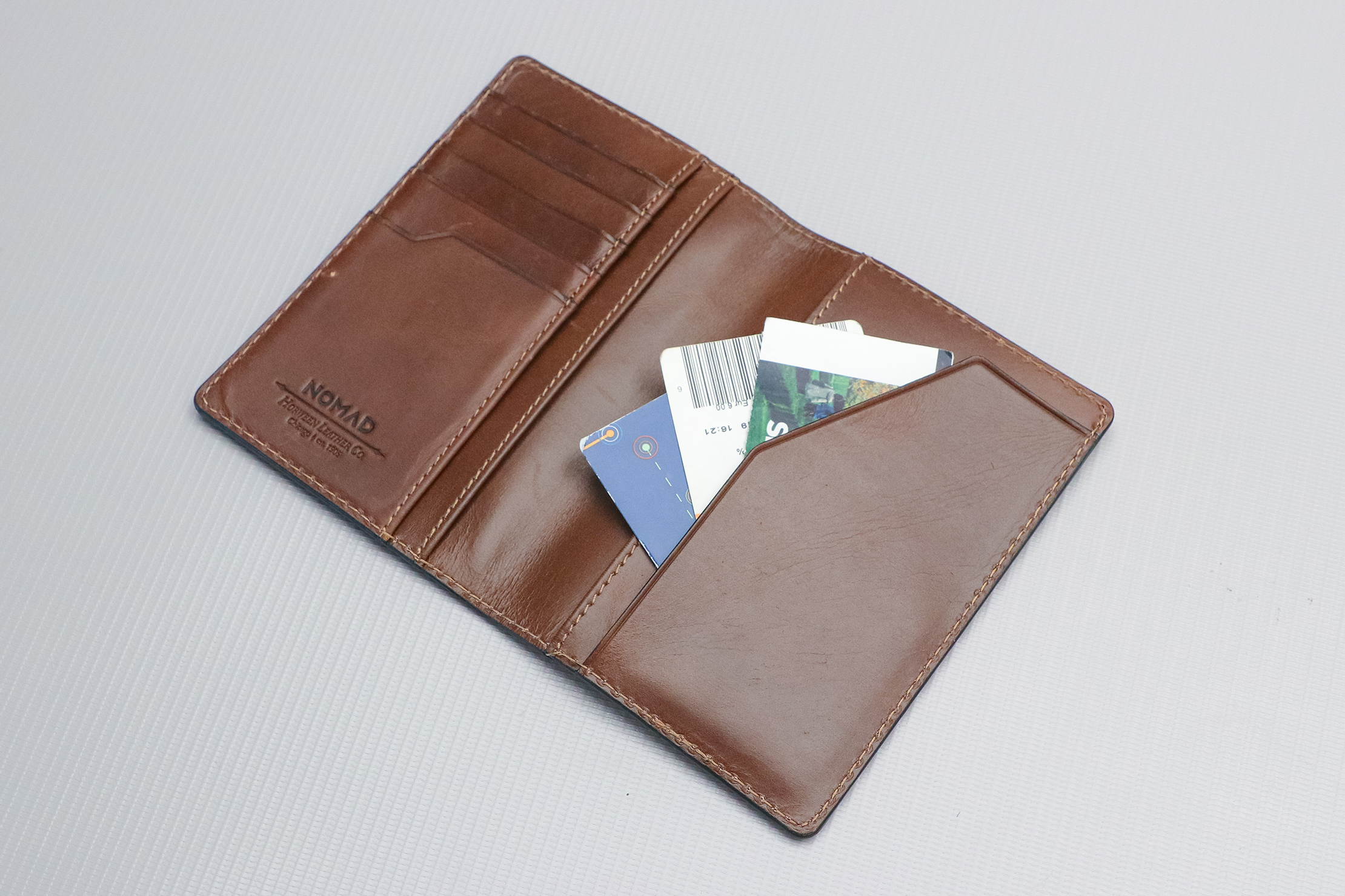 Nomad Goods Traditional Passport Wallet Tickets