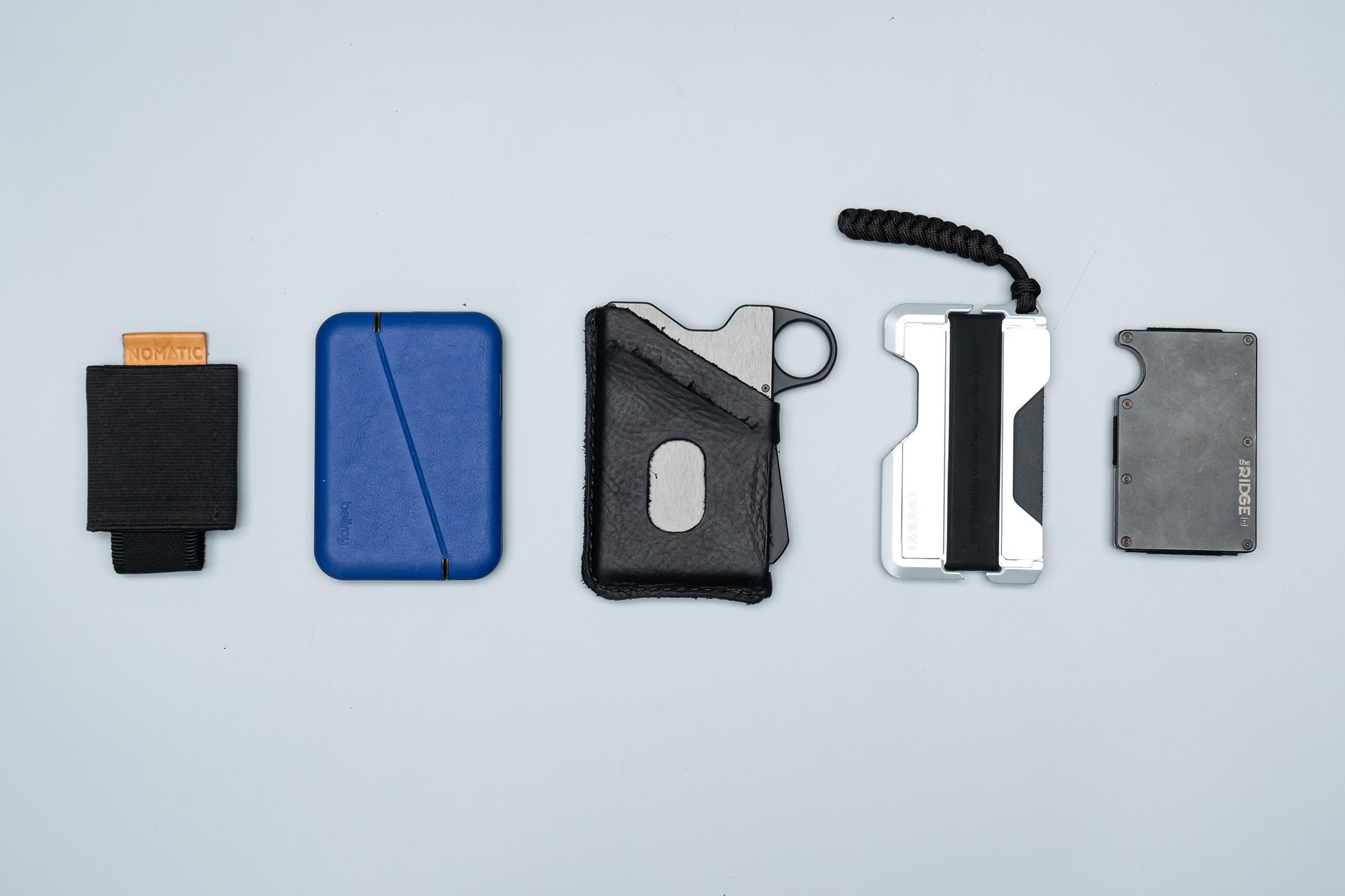 Grip6 Wallet Comparisons