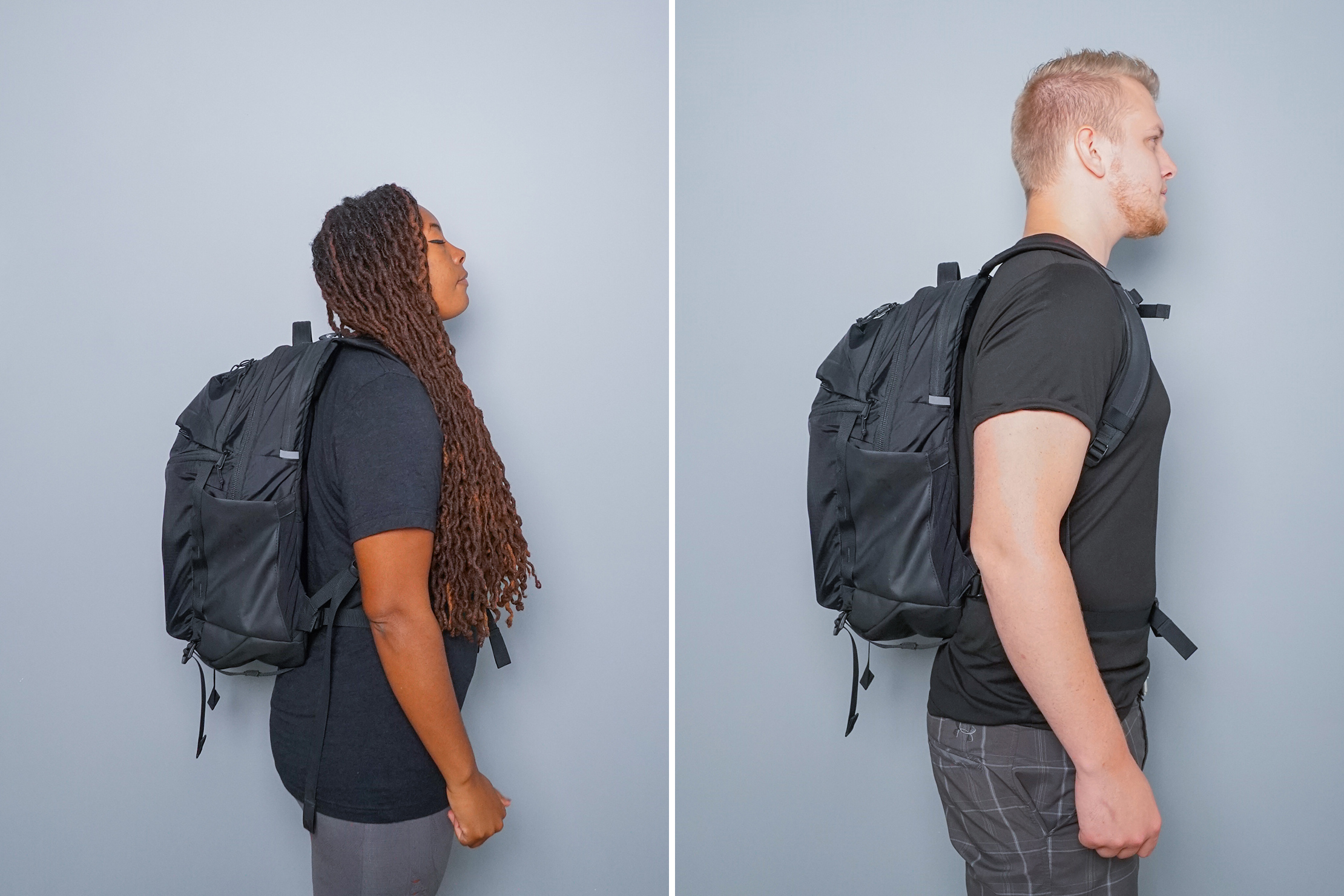 The North Face Surge Backpack fitnote