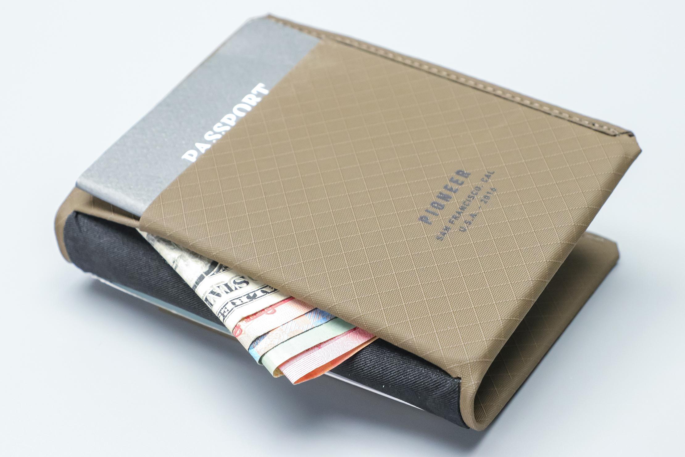 Pioneer Passport Wallet Cash Pocket 2