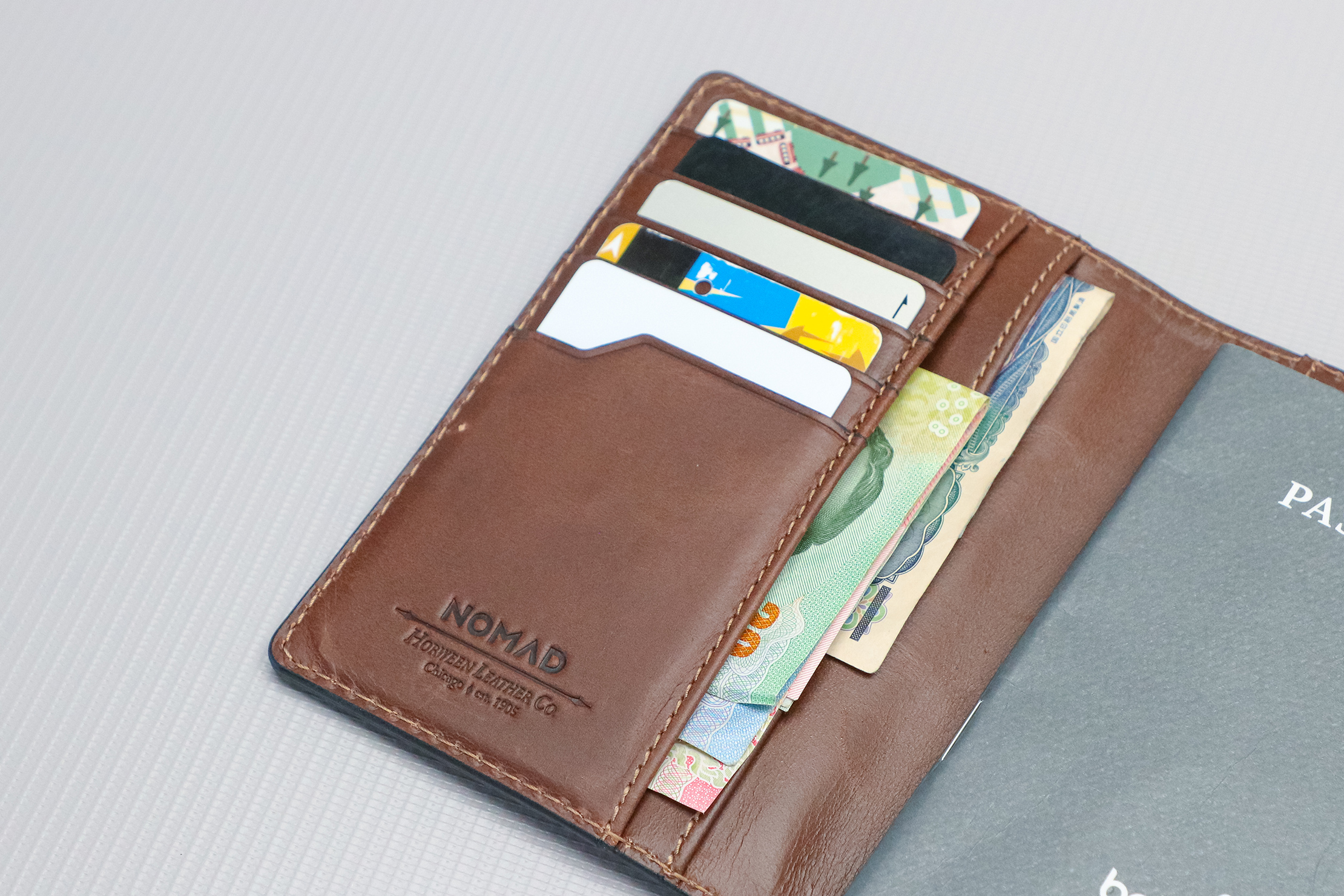 Nomad Goods Traditional Passport Wallet Cards