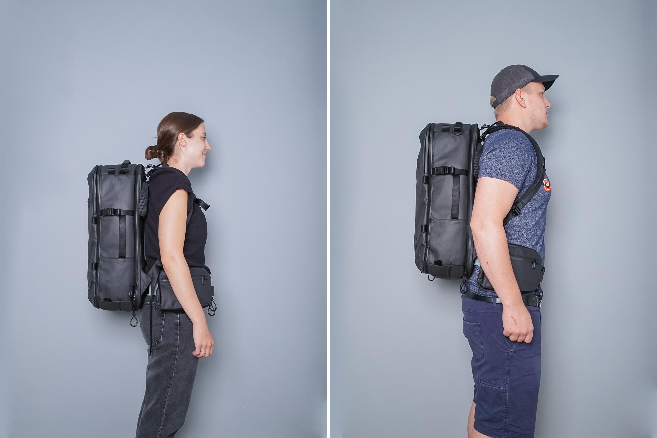 Gravel Travel Backpack System Fitnote