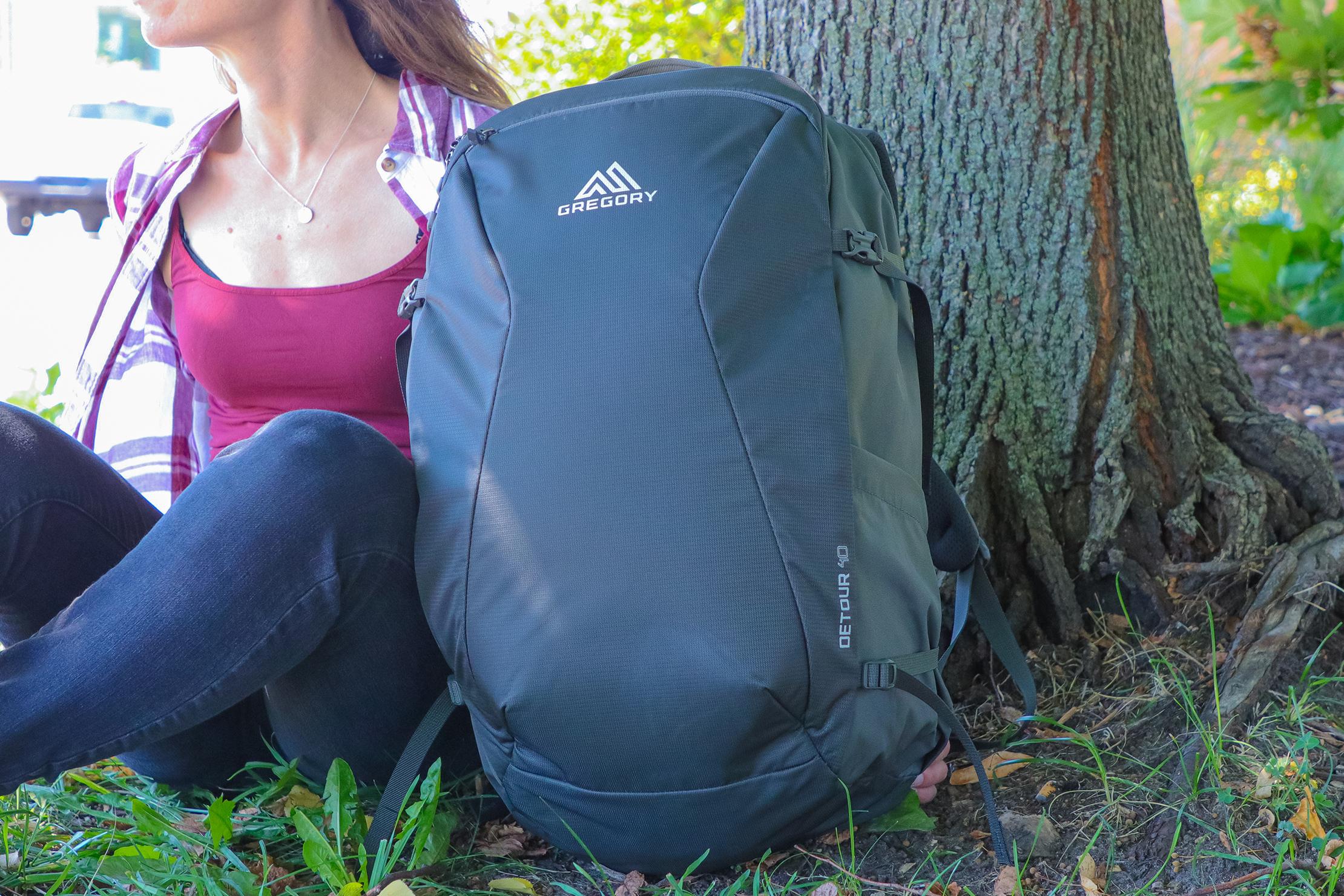 Gregory Detour 40 Backpack Usage 4