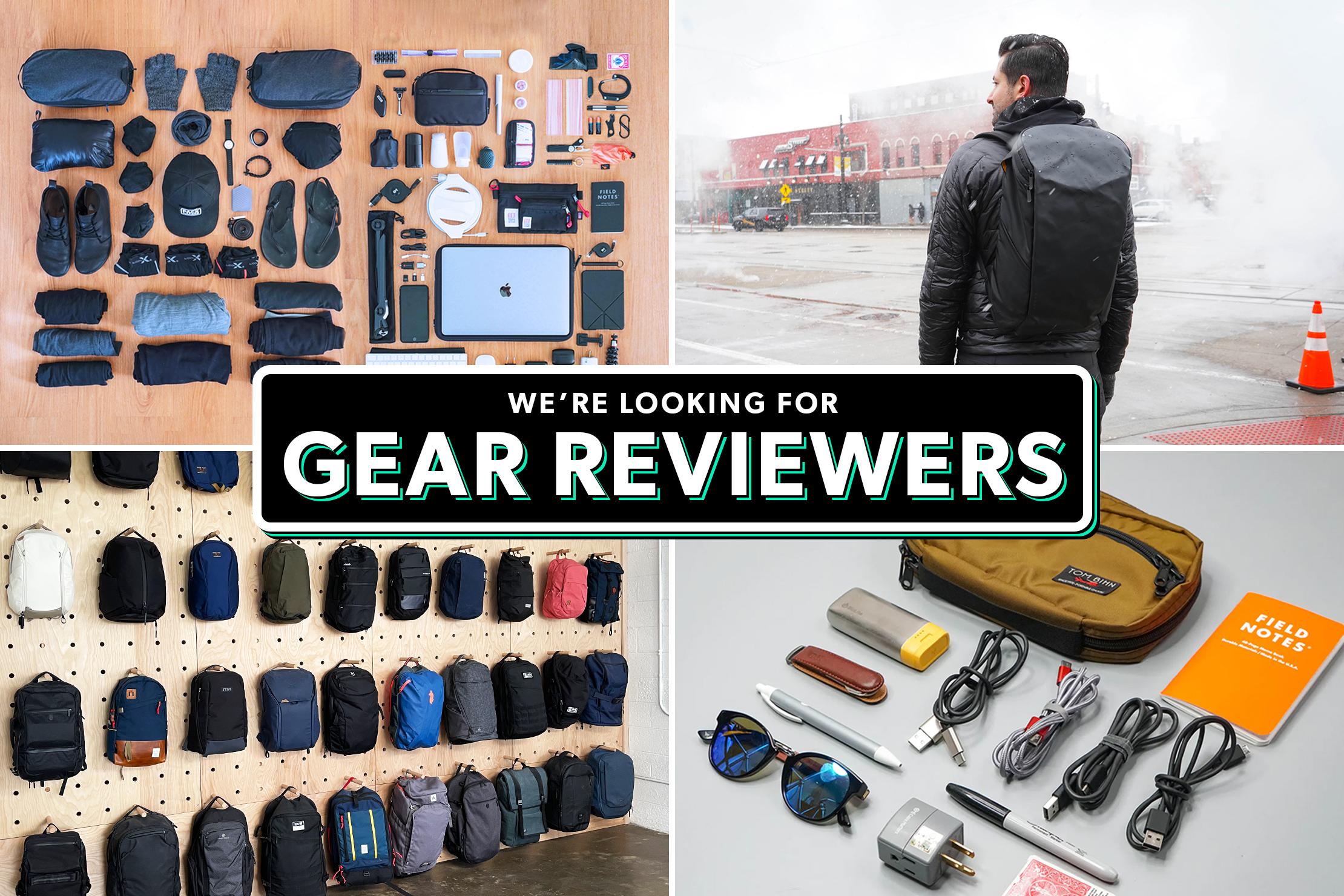 Hiring Gear Reviewers