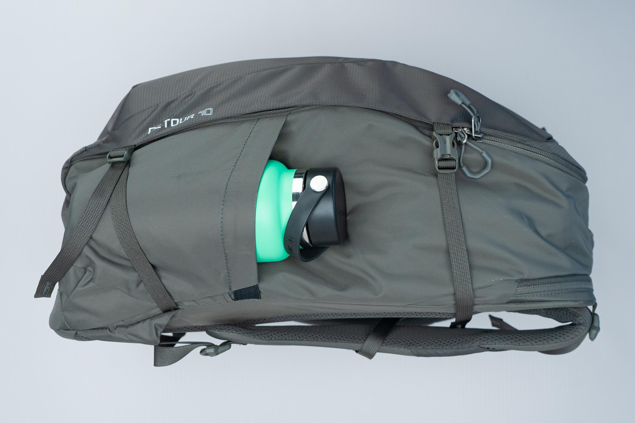 Gregory Detour 40 Backpack Side With Bottle