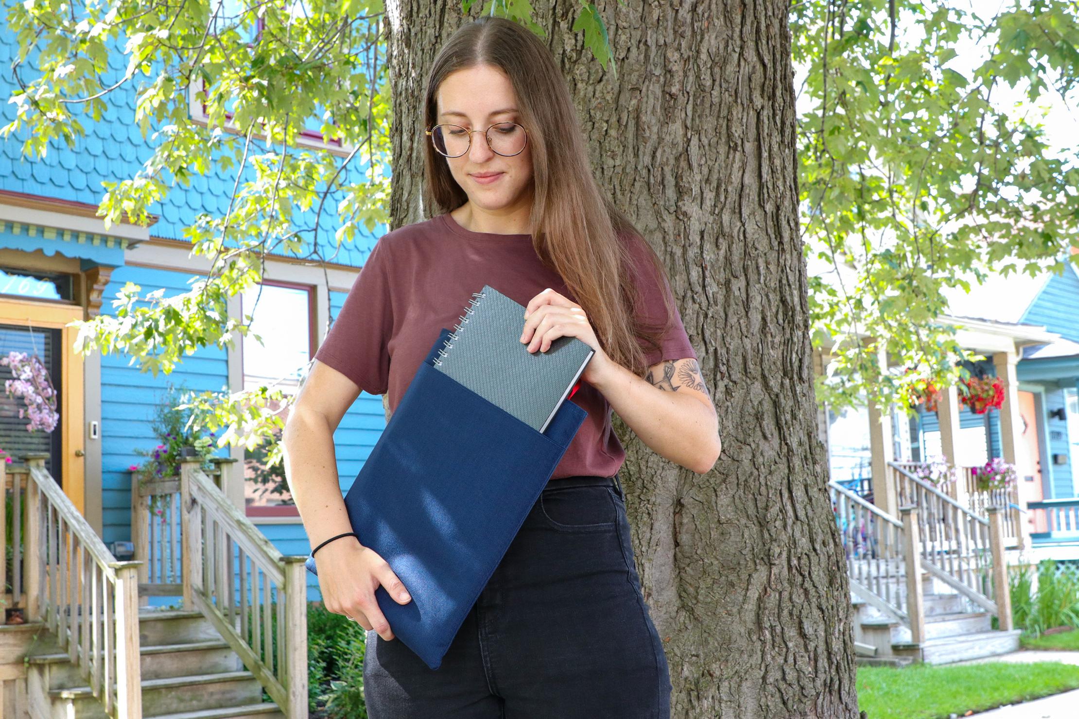 Topo Designs Laptop Sleeve Book Outdoor