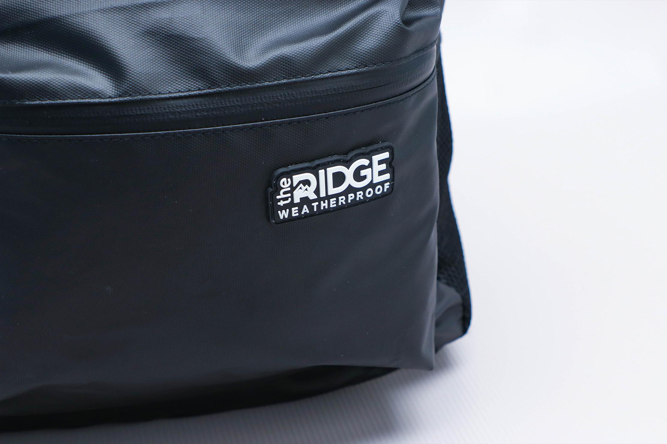 The Ridge Classic Backpack Weatherproof Logo