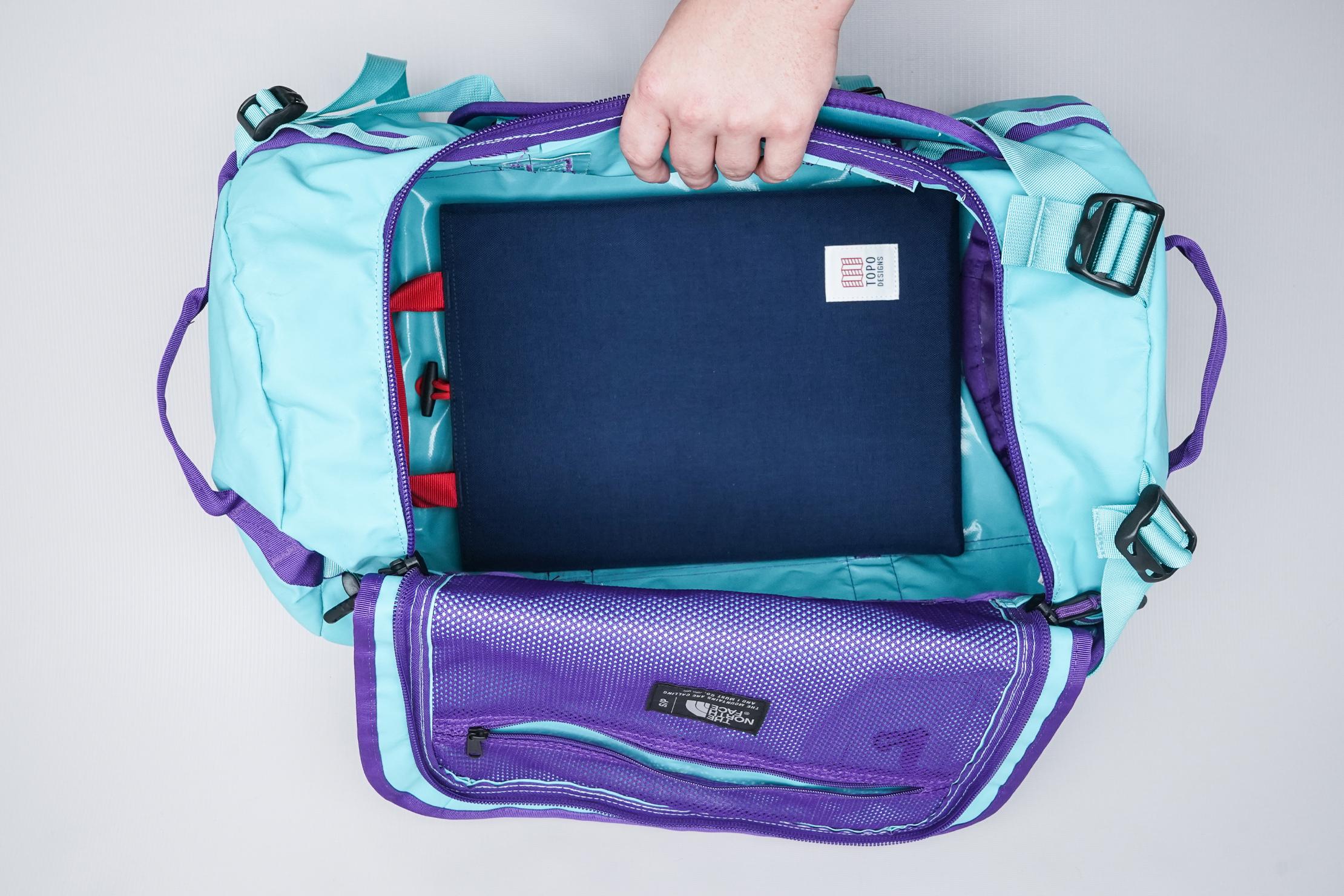 Topo Designs Laptop Sleeve Inside Bag