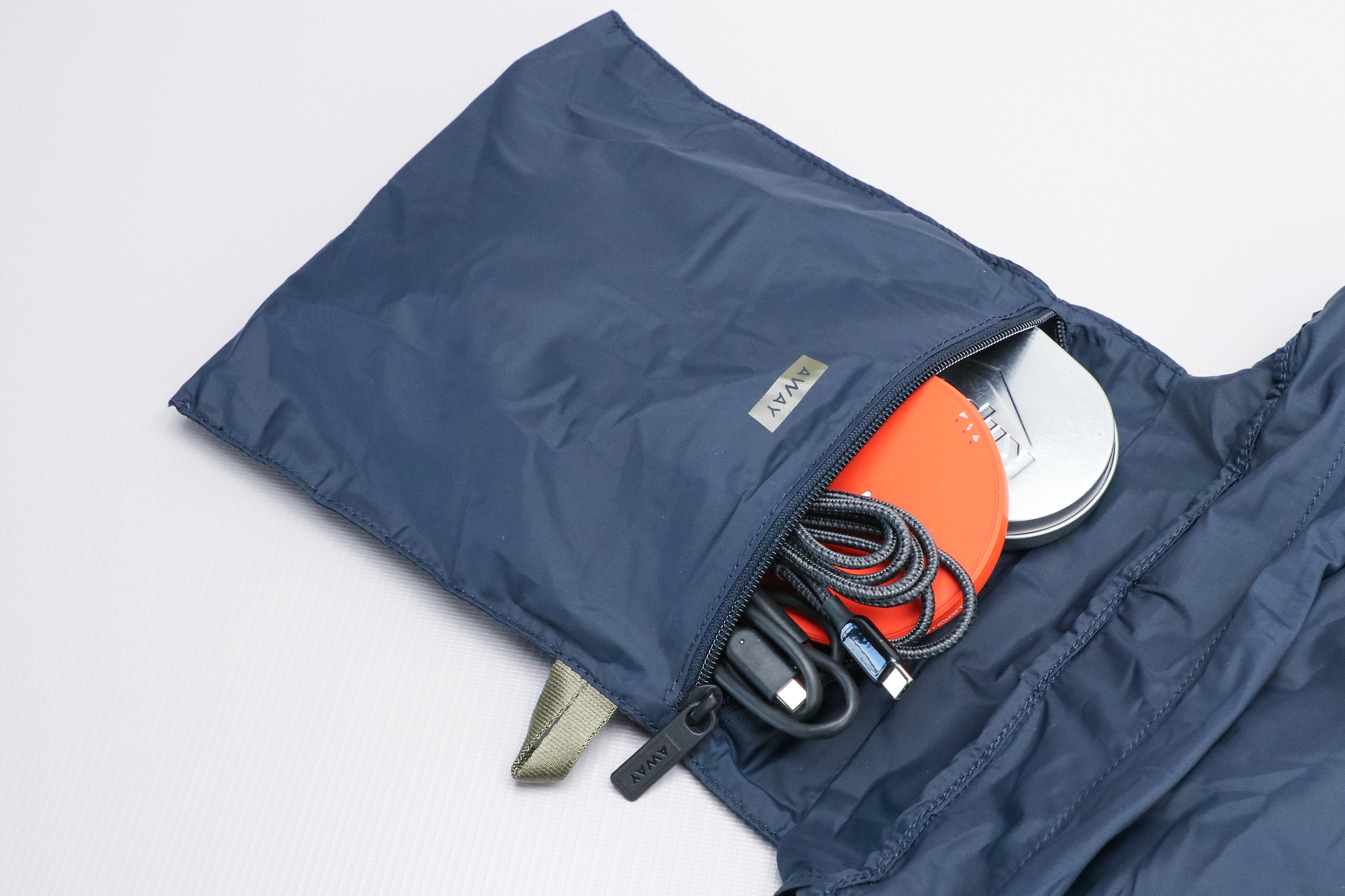 Away Packable Backpack Tech Pouch
