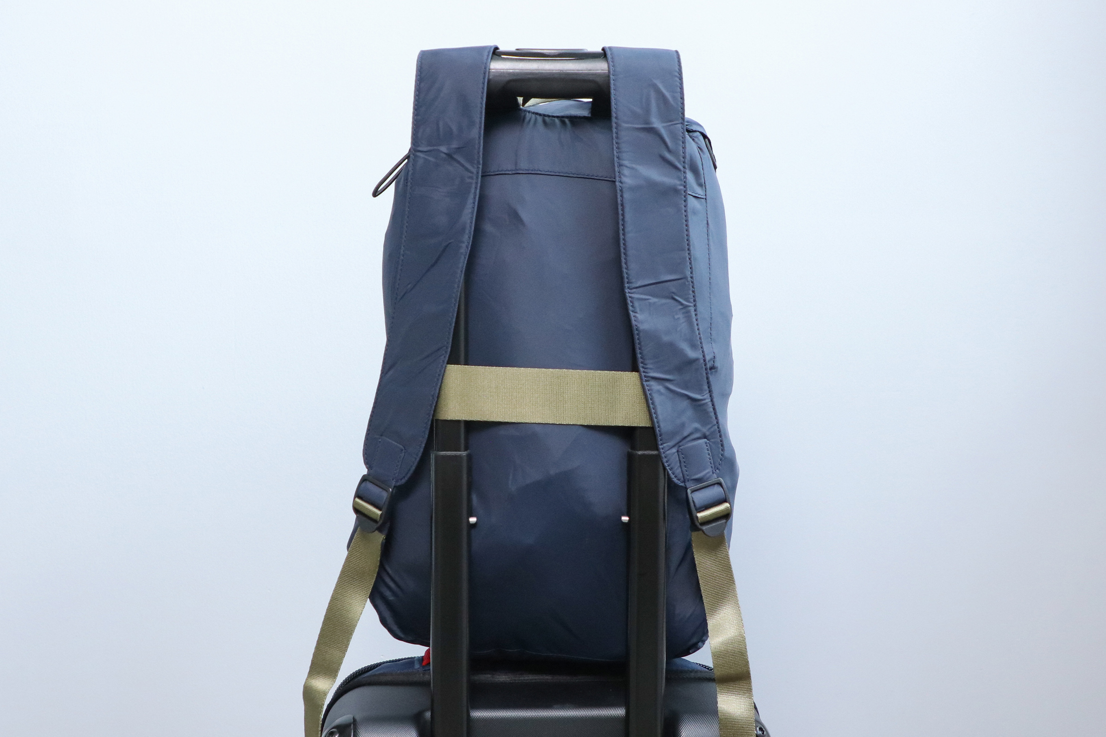 Away Packable Backpack Luggage Strap