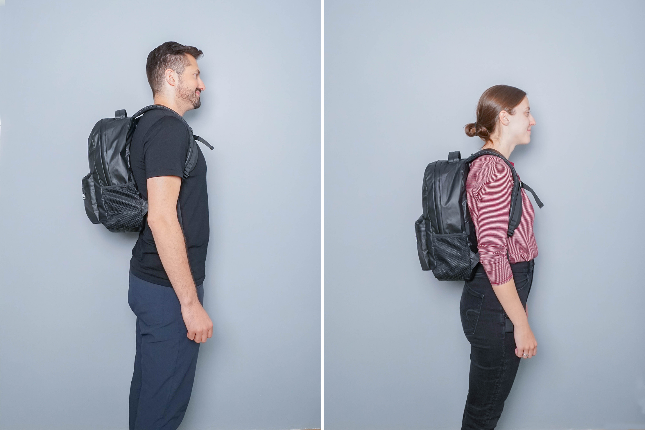 The Ridge Classic Backpack Weatherproof Side by Side