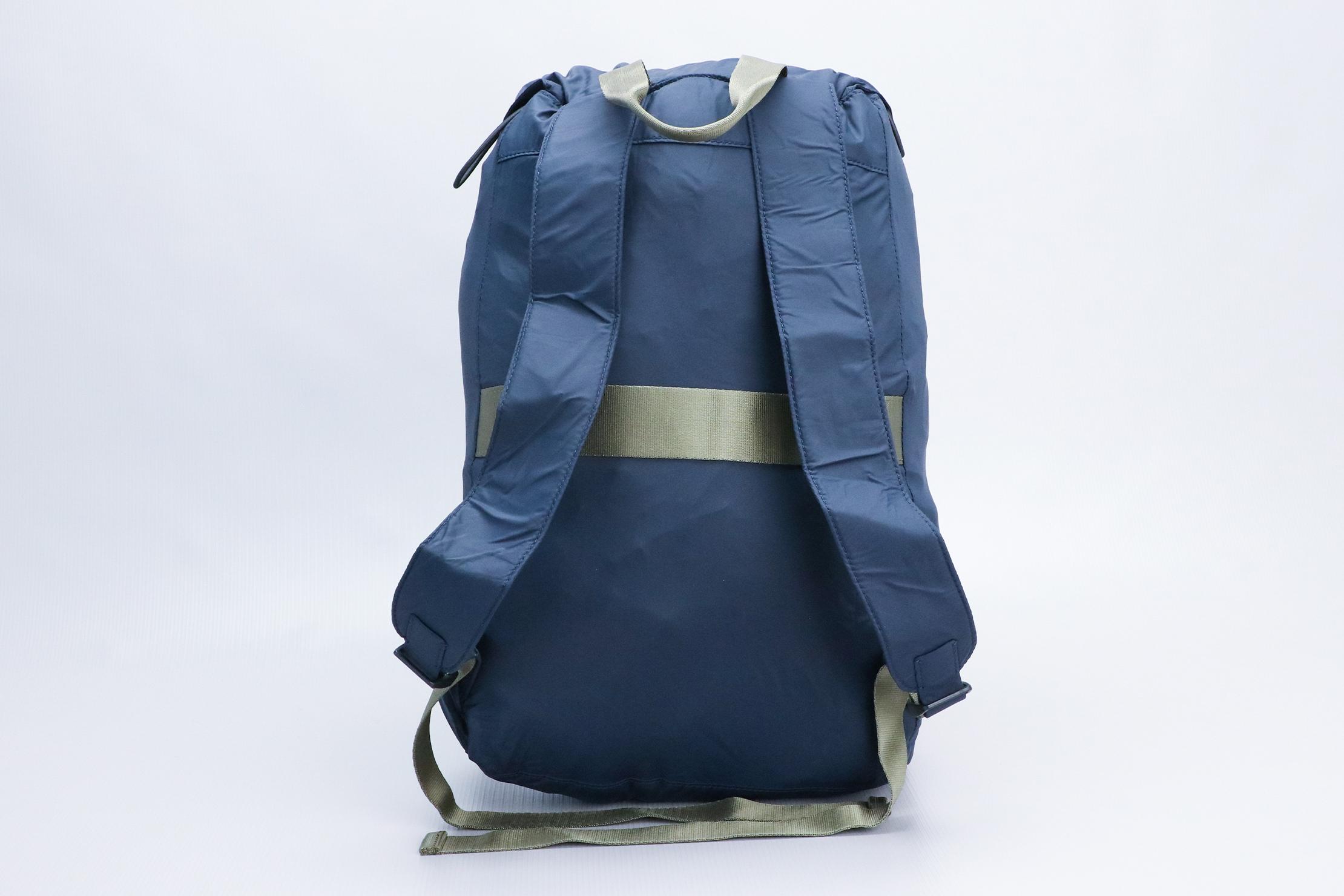 Away Packable Backpack Back Indoor