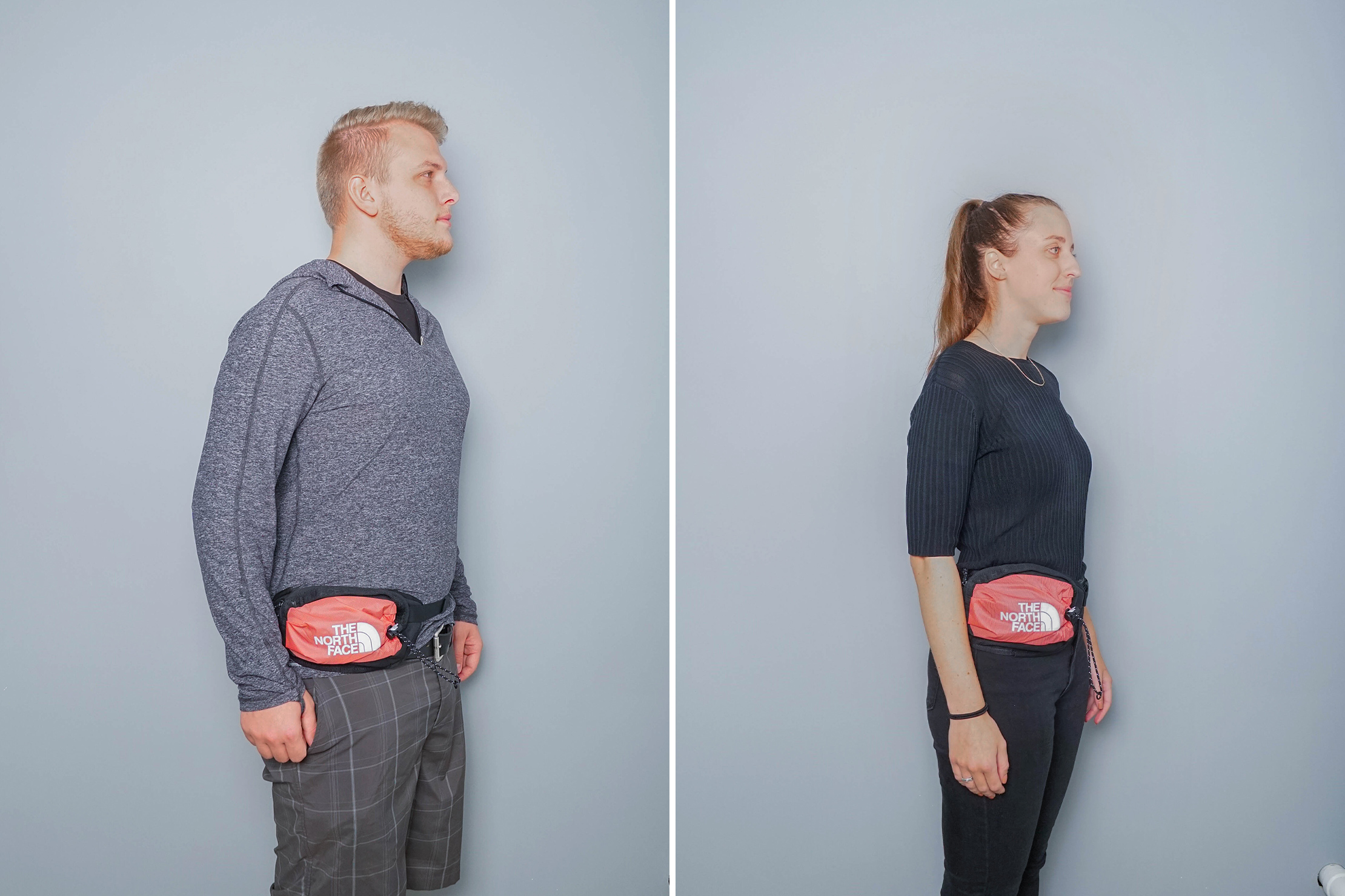 The North Face Bozer Hip Pack III Side By Side