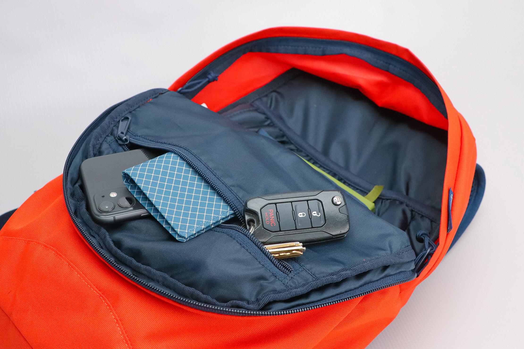 United By Blue 15L Commuter Backpack Upper Pocket