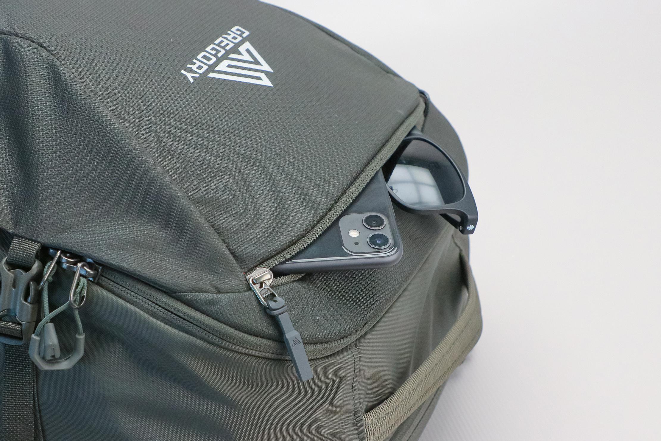 Gregory Detour 40 Backpack Top Pocket