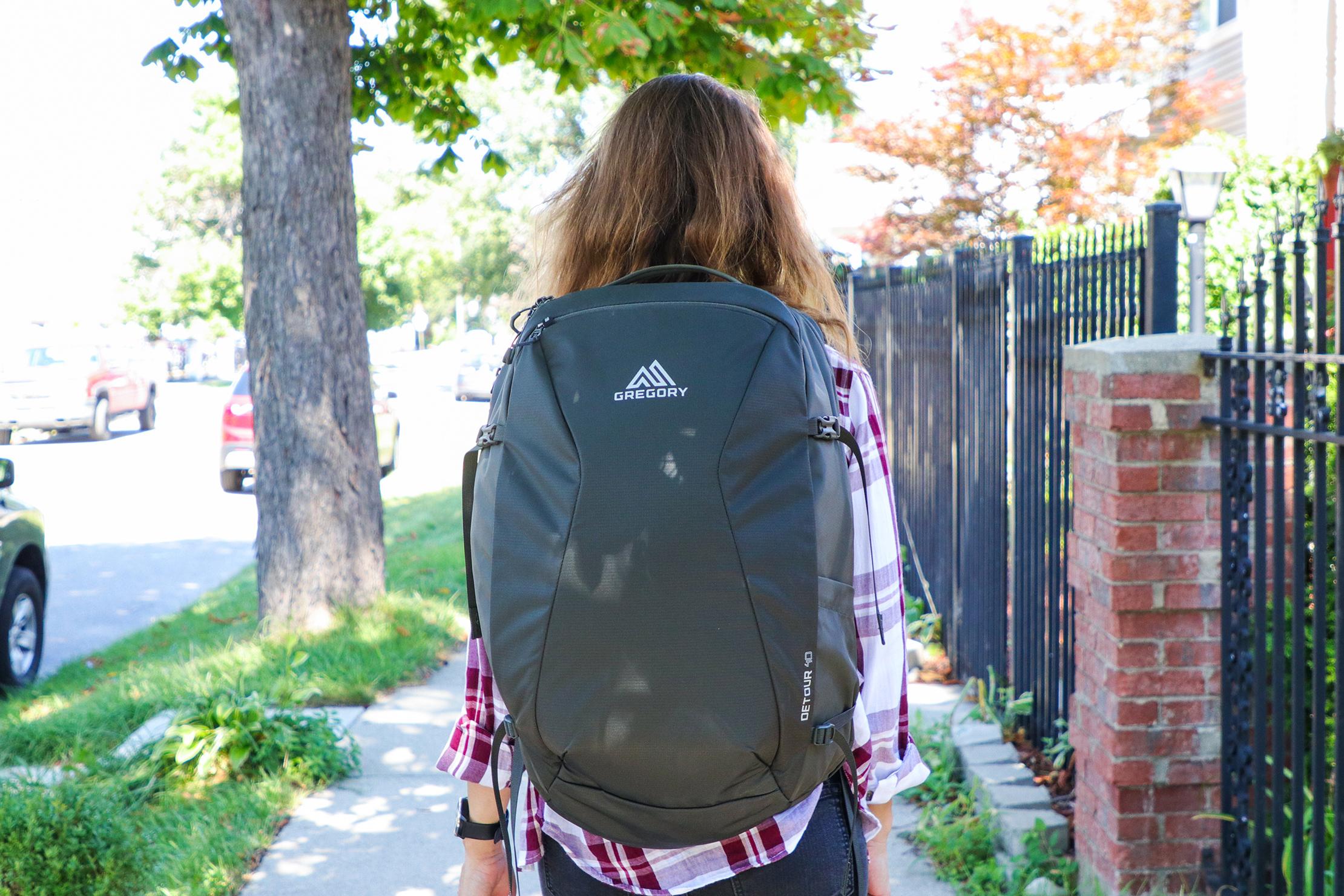 Gregory Detour 40 Backpack Usage 1