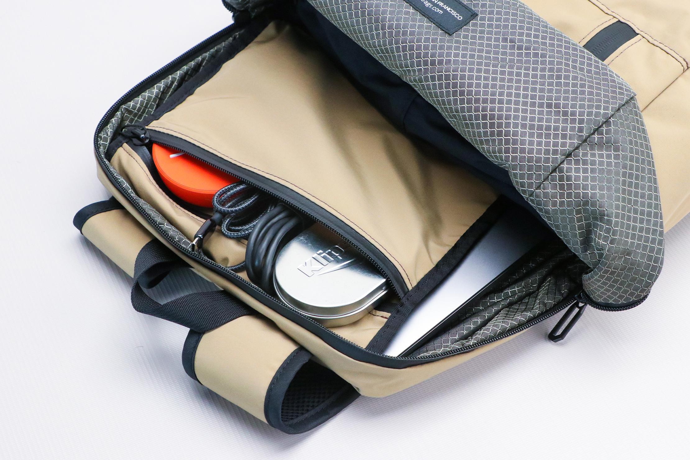 WaterField Designs Packable Backpack Tech