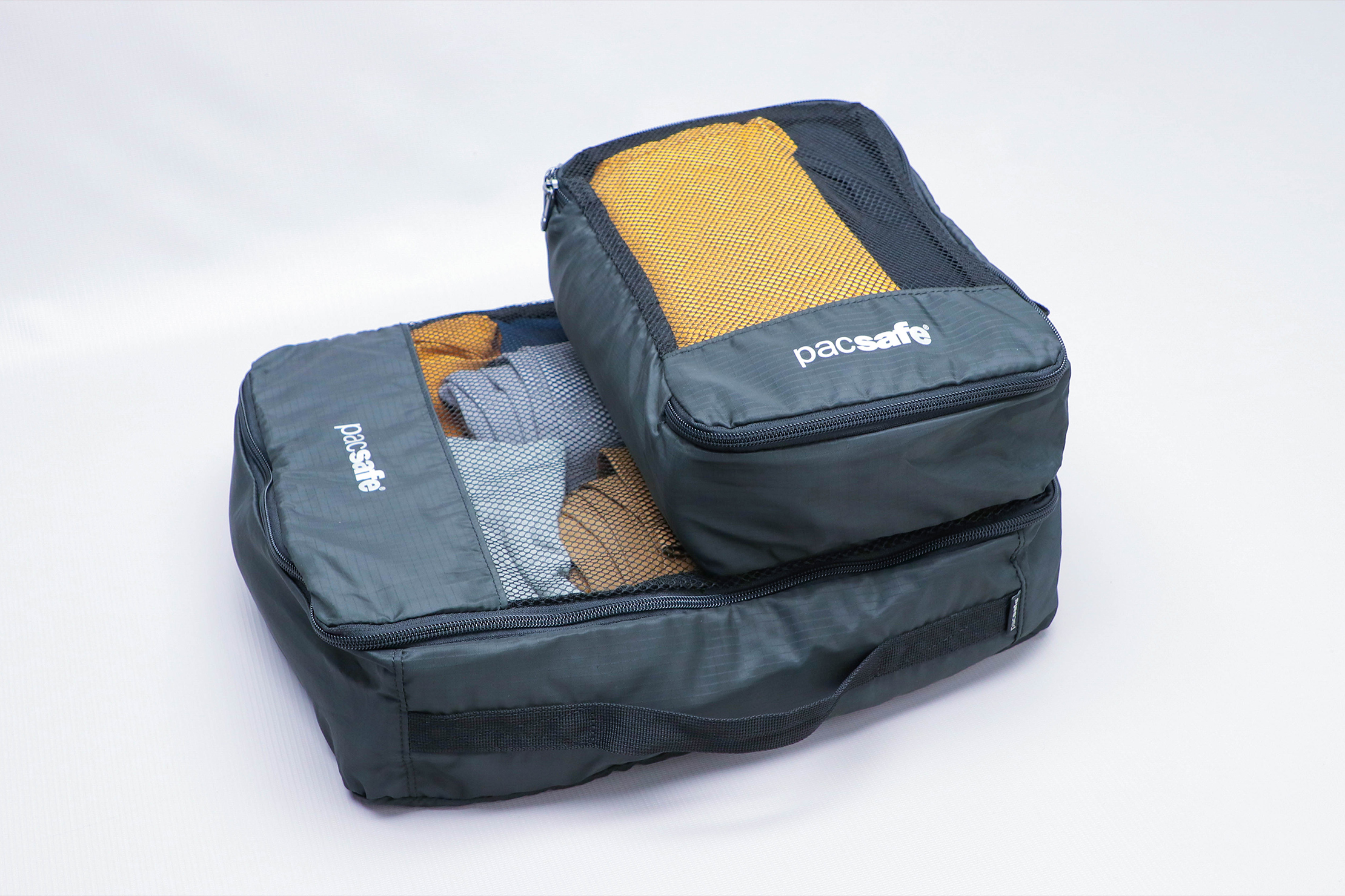 Pacsafe Travel Packing Cubes Stacked