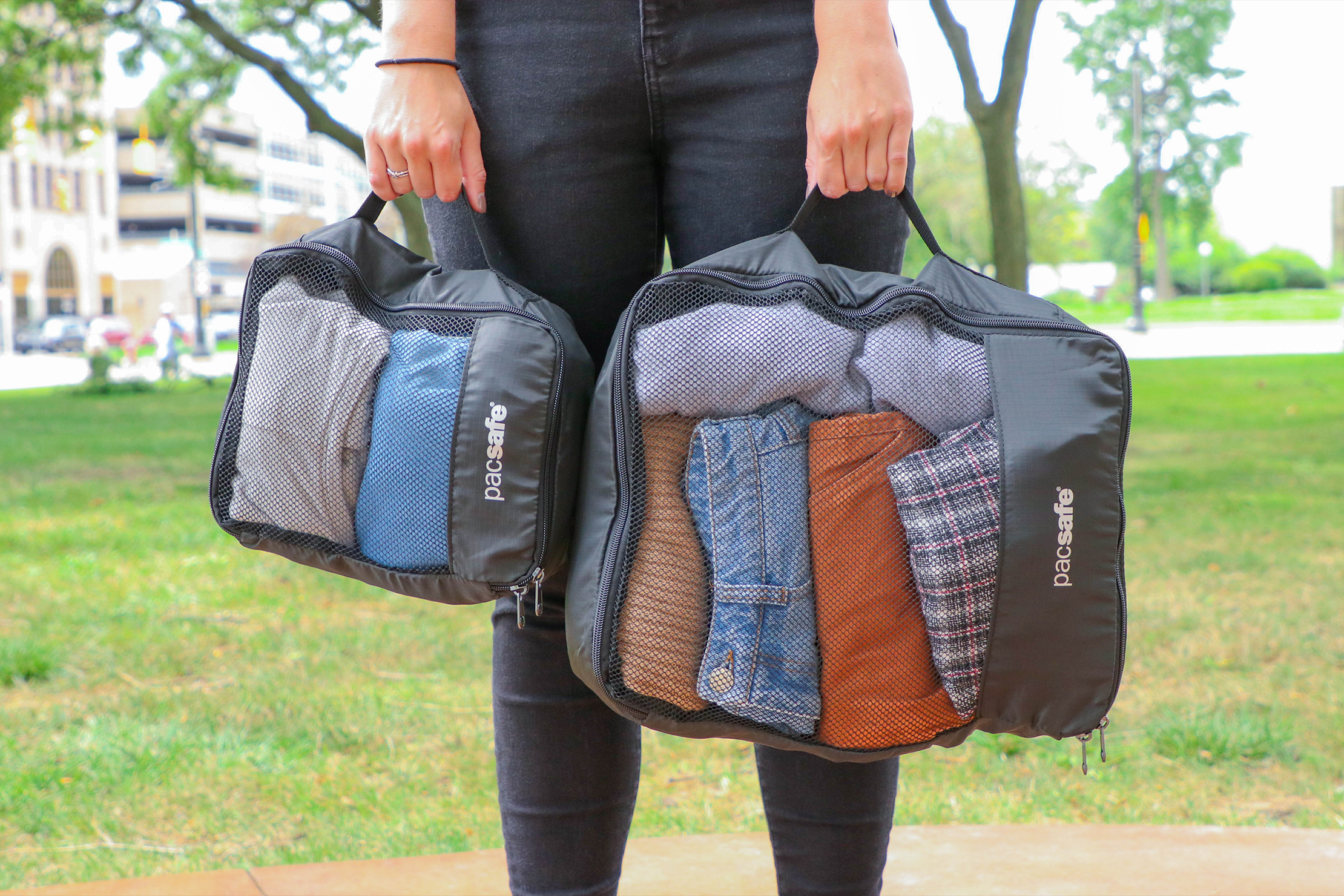 Pacsafe Travel Packing Cubes Carry