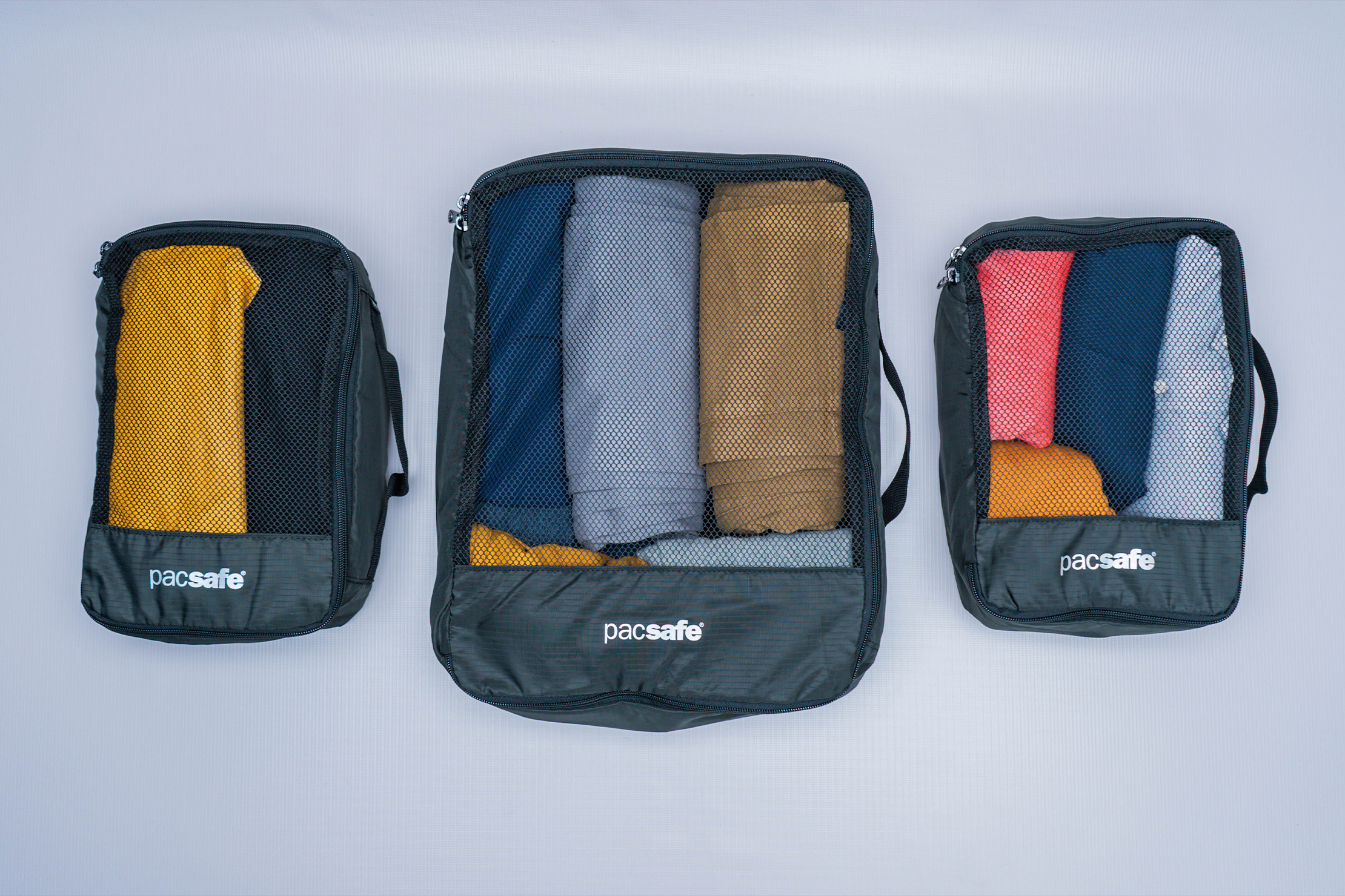 Pacsafe Travel Packing Cubes Three