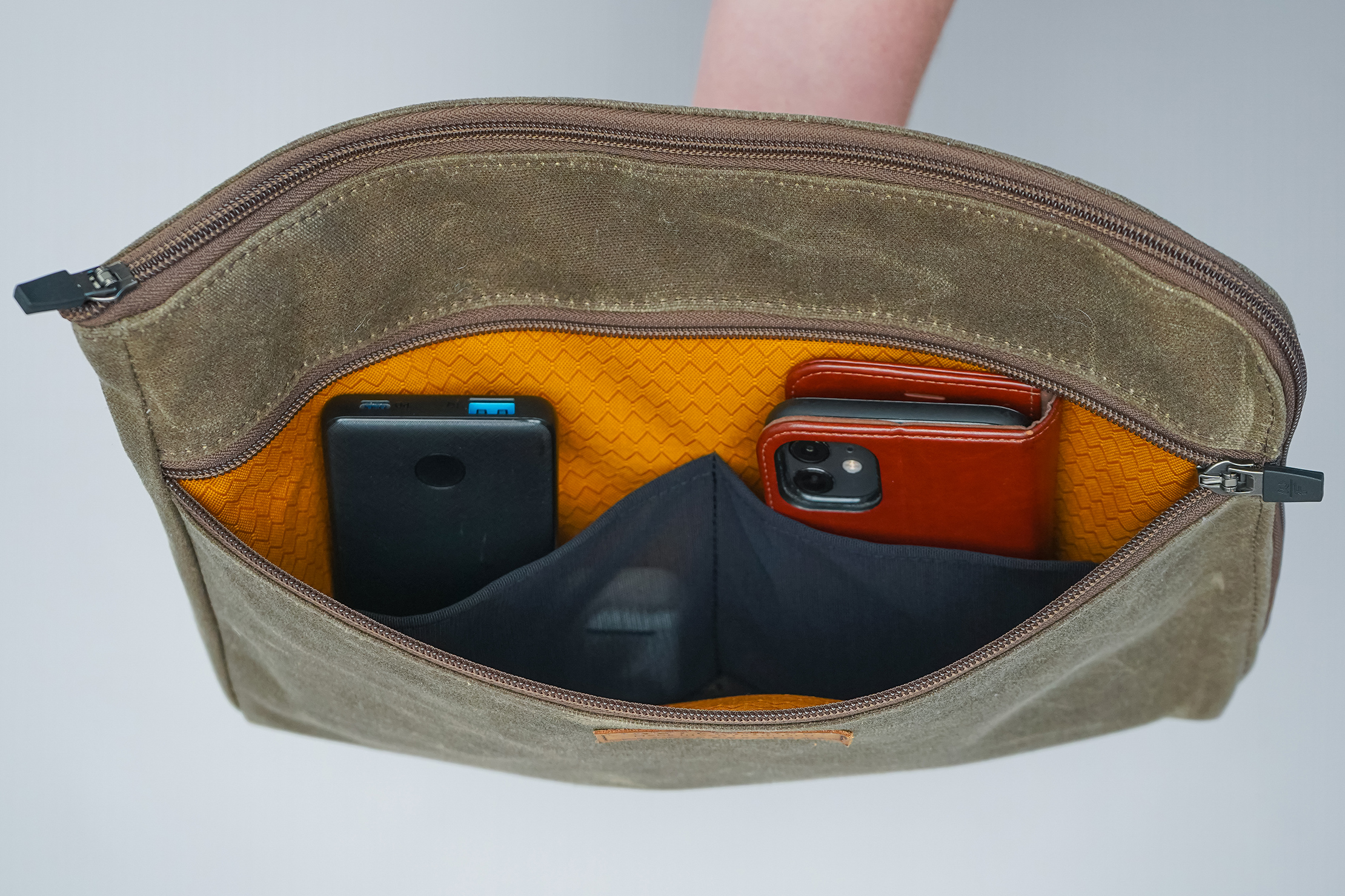 WaterField Designs Air Caddy Front Pocket Mesh