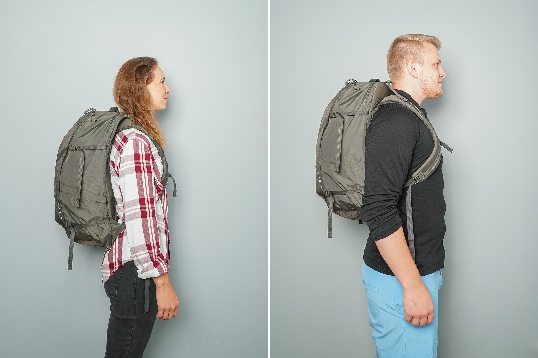 Gregory Detour 40 Backpack Fitnote