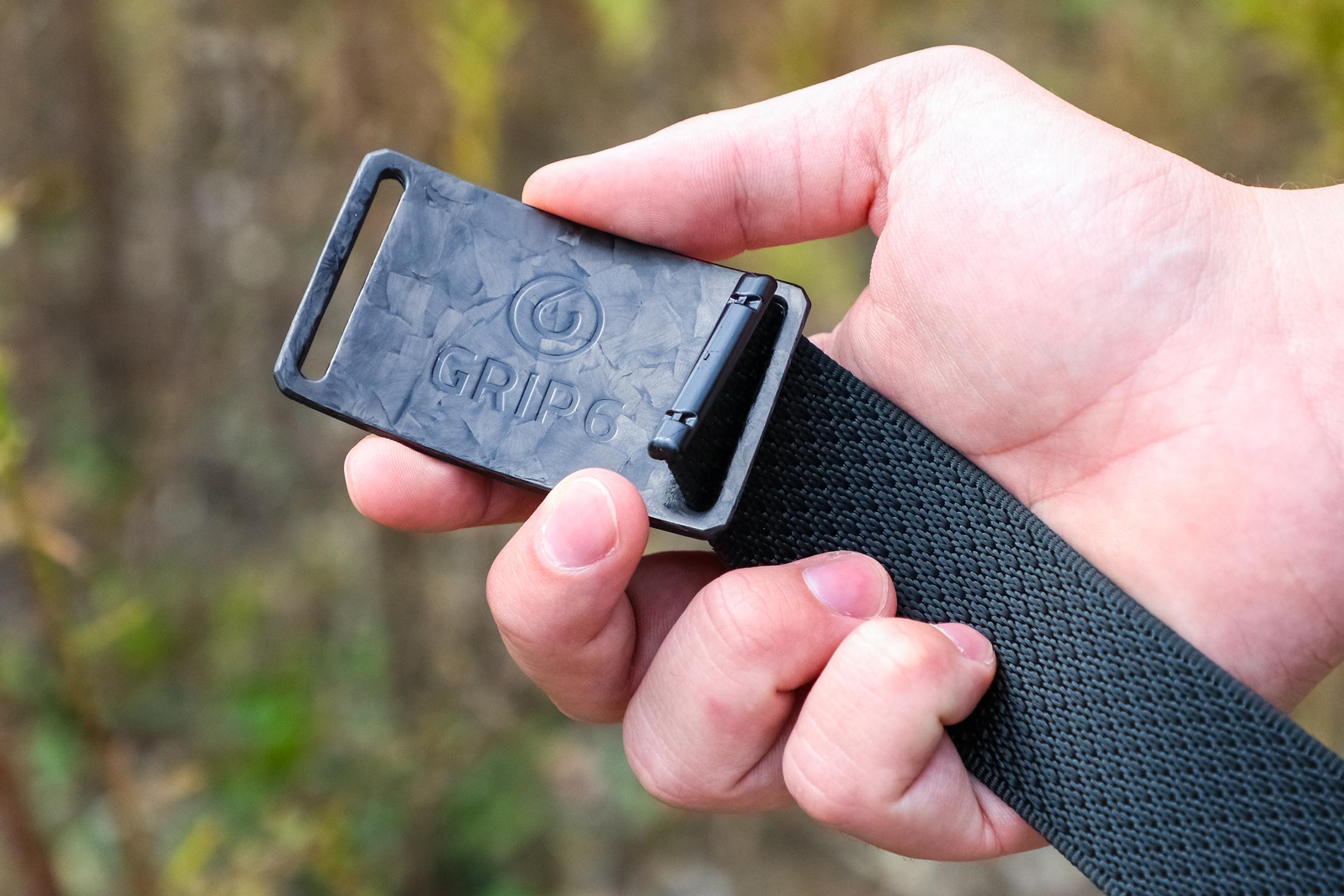 Grip6 Forged Carbon Fiber Belt Usage 2